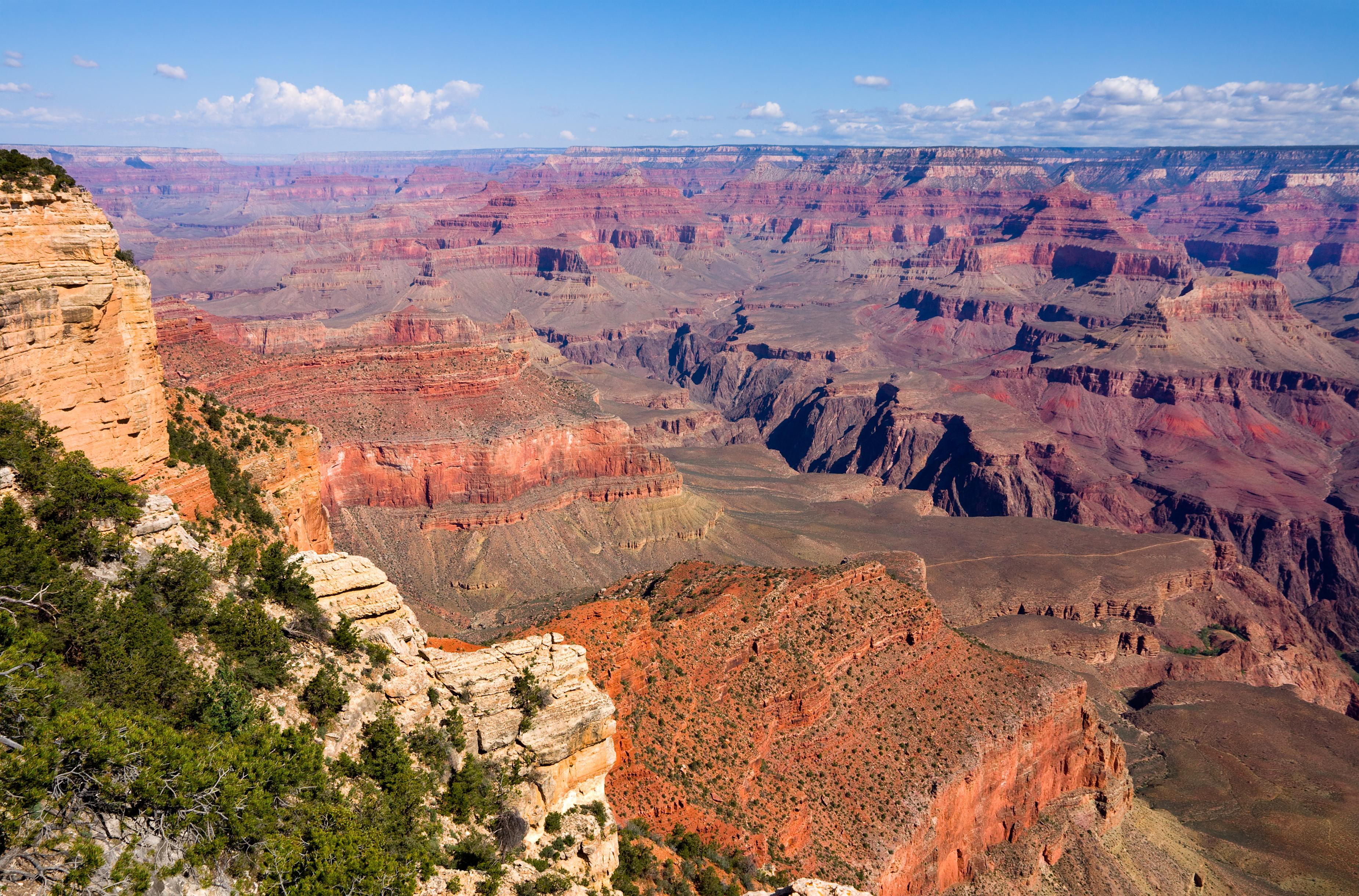 Grand Canyon on a sunny day, Arizona
